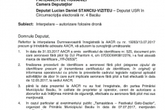 Raspuns AACR 1