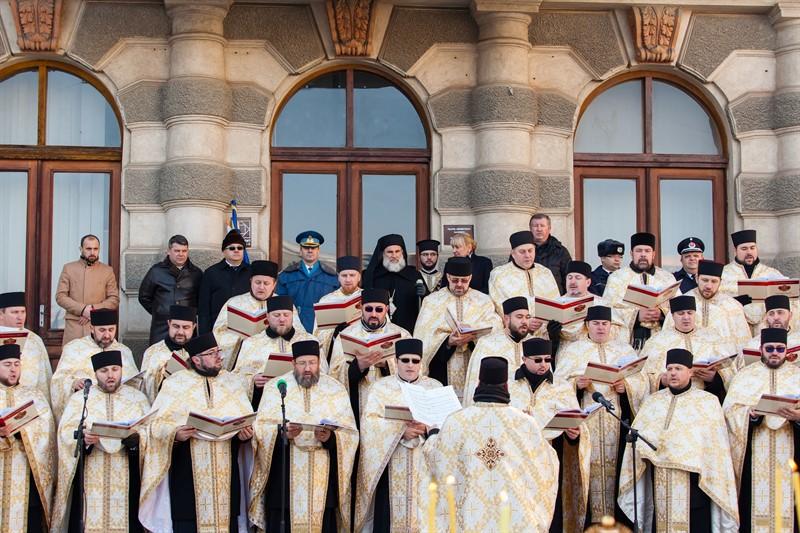Mica Unire de la Bacău, salvată de preoți (FOTOREPORTAJ)