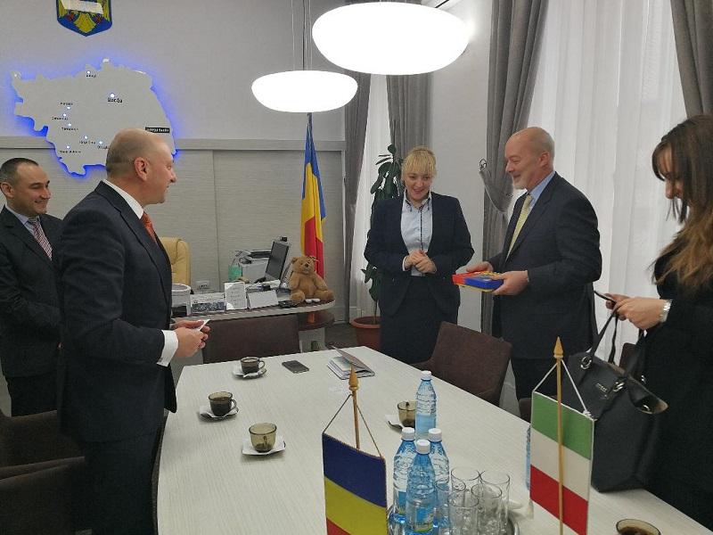Ambasadorul Italiei a vizitat Bacăul