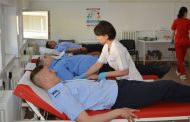 Jandarmii băcăuani au donat sânge de ZIUA NAȚIONALĂ A INIMII