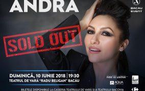 Concertul ANDRA în Bacău – SOLD OUT
