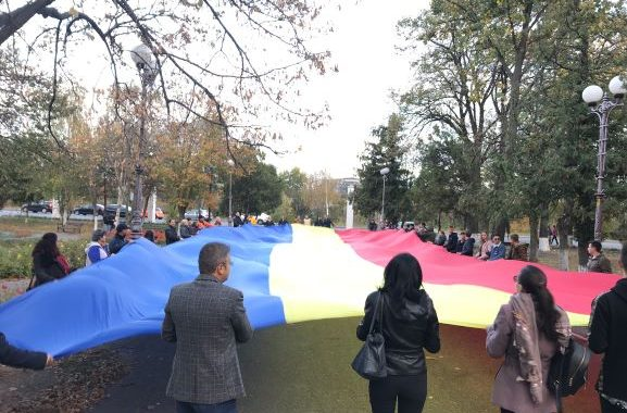 """""""Caravana Tricolorul"""" a trecut prin Bacău (video)"""