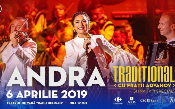 """""""Tradițional""""- un nou spectacol ANDRA pe scena Teatrului de Vară din Bacău"""