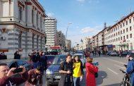 #șîeu - Imediat după ce ministrul Cuc a reinaugurat centura municipiului, băcăuanii au blocat orașul (foto-video)
