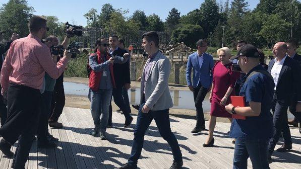 Viorica Dăncilă – vizită în Bacău