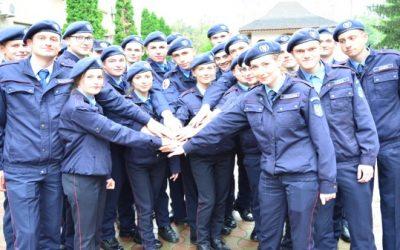 23 de elevi jandarmi, în stagiu de practică la Inspectoratul de Jandarmi Judeţean Bacău